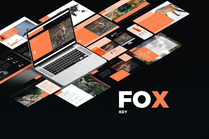 Cover Image For FOX Keynote Templates