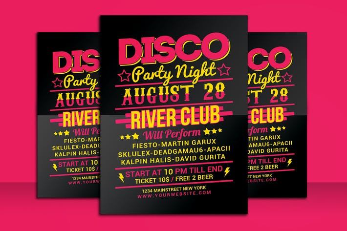 Thumbnail for Disco Night Party