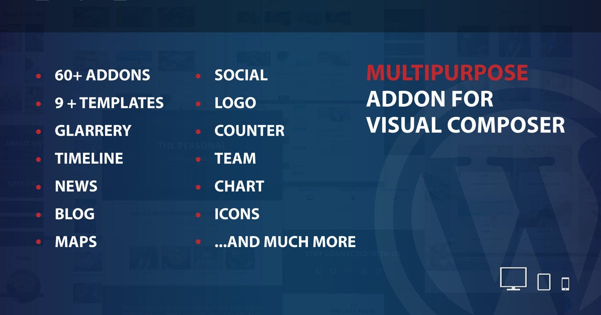 Download MultiPurpose Addons for WPBakery Page Builder WP by ad-theme