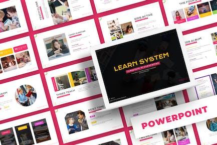 Aprender Sistema - Plantilla de Powerpoint