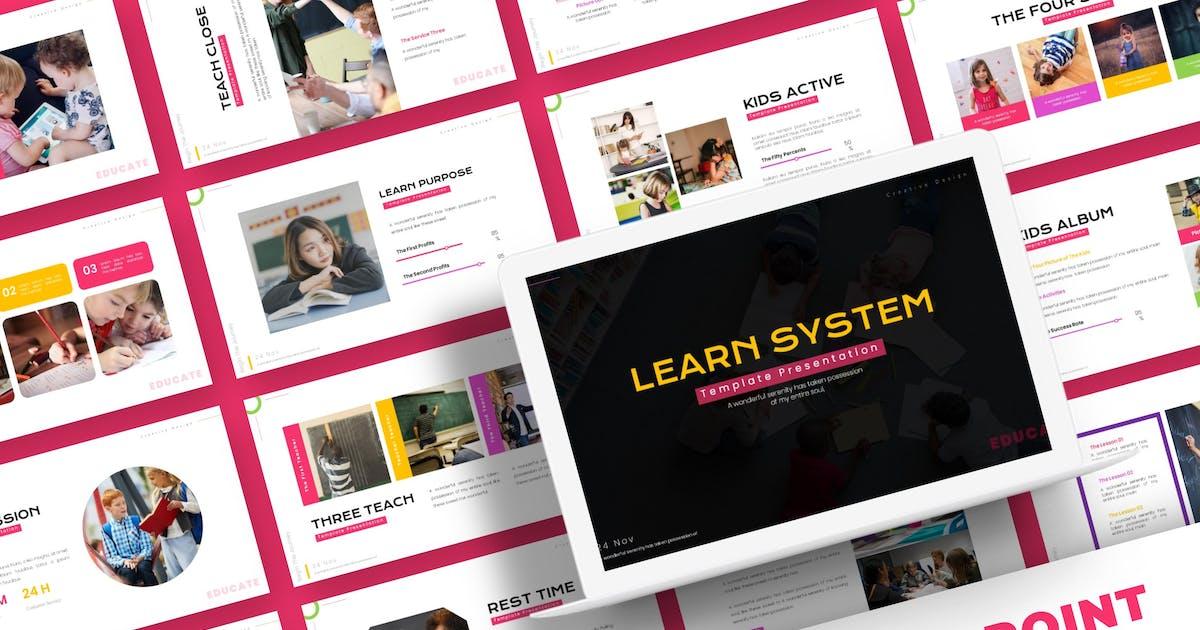 Download Learn System - Powerpoint Template by karkunstudio