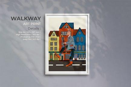 WalkWay Art Pint