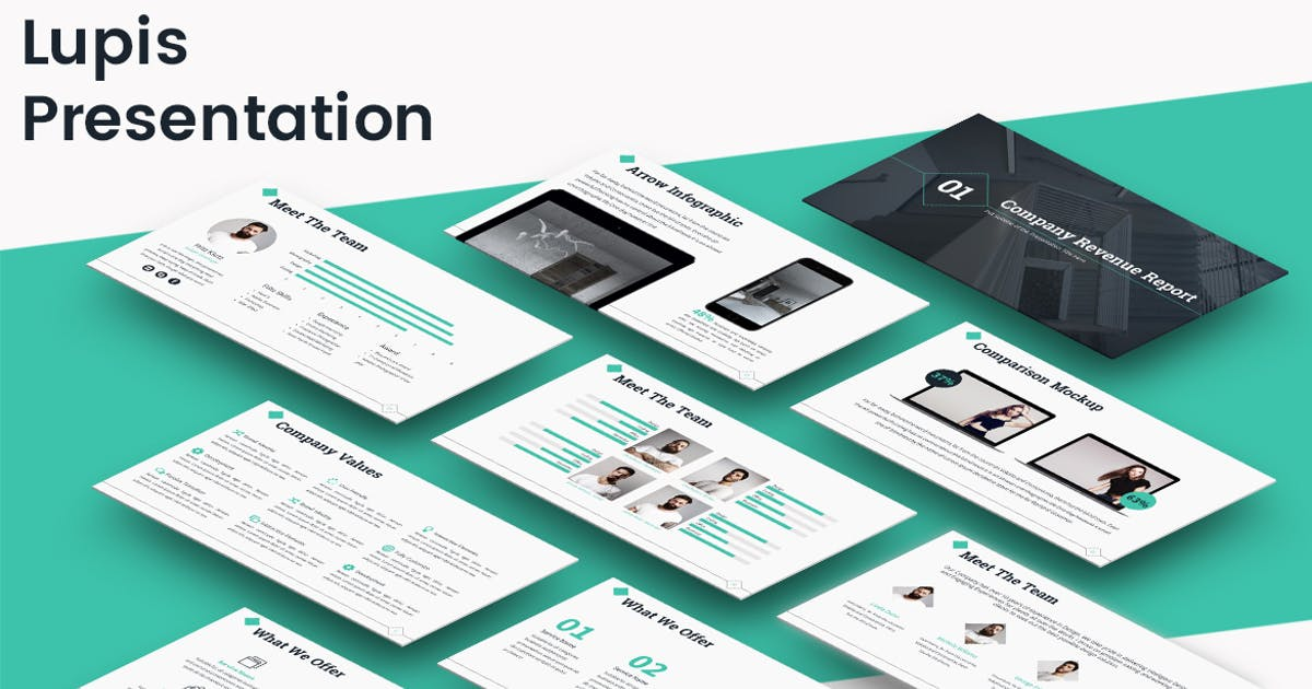 Download Lupis - Keynote Template by Unknow