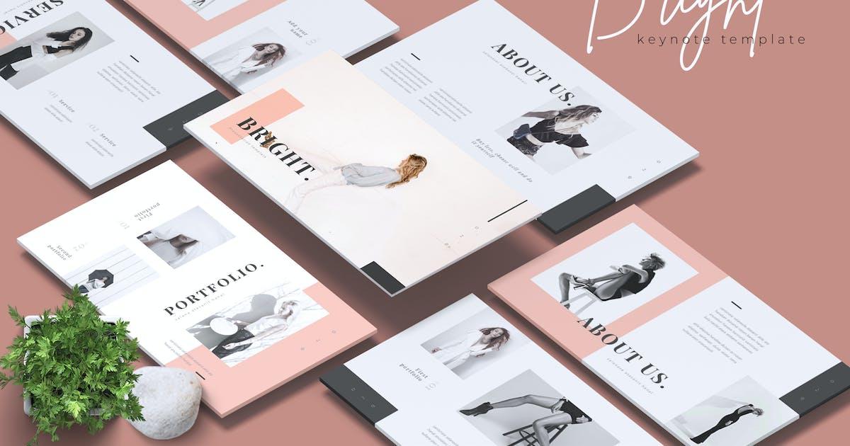 Download BRIGHT - Fashion Keynote Template by RahardiCreative
