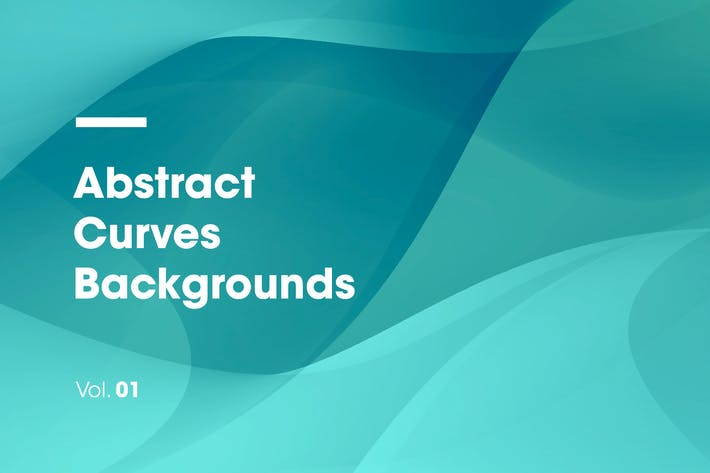 Thumbnail for Abstract Curves Backgrounds | Vol. 01