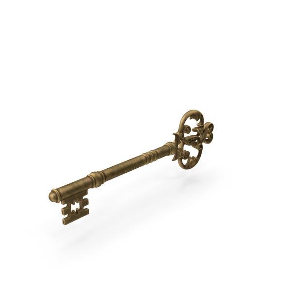 Thumbnail for Gold Skeleton Key
