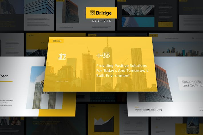 Thumbnail for Bridge - Architect & Developer Keynote Template