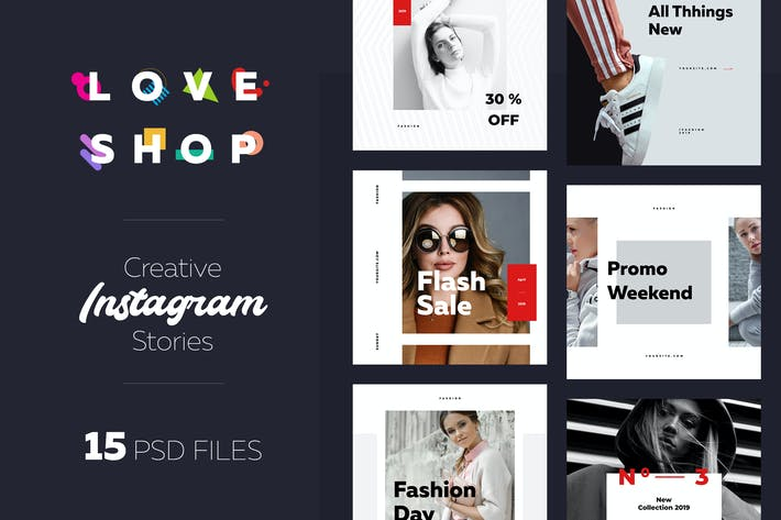 Thumbnail for Instagram Shopping Banner 02