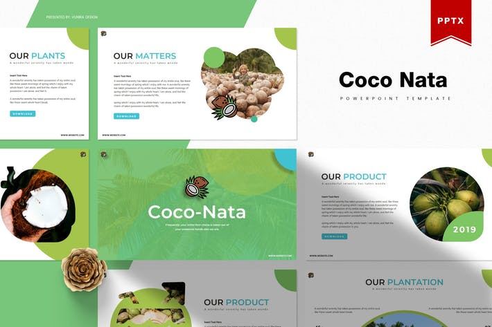 Thumbnail for Coco Nata | Powerpoint Template