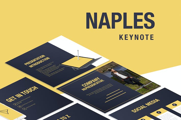Thumbnail for Naples Keynote Template