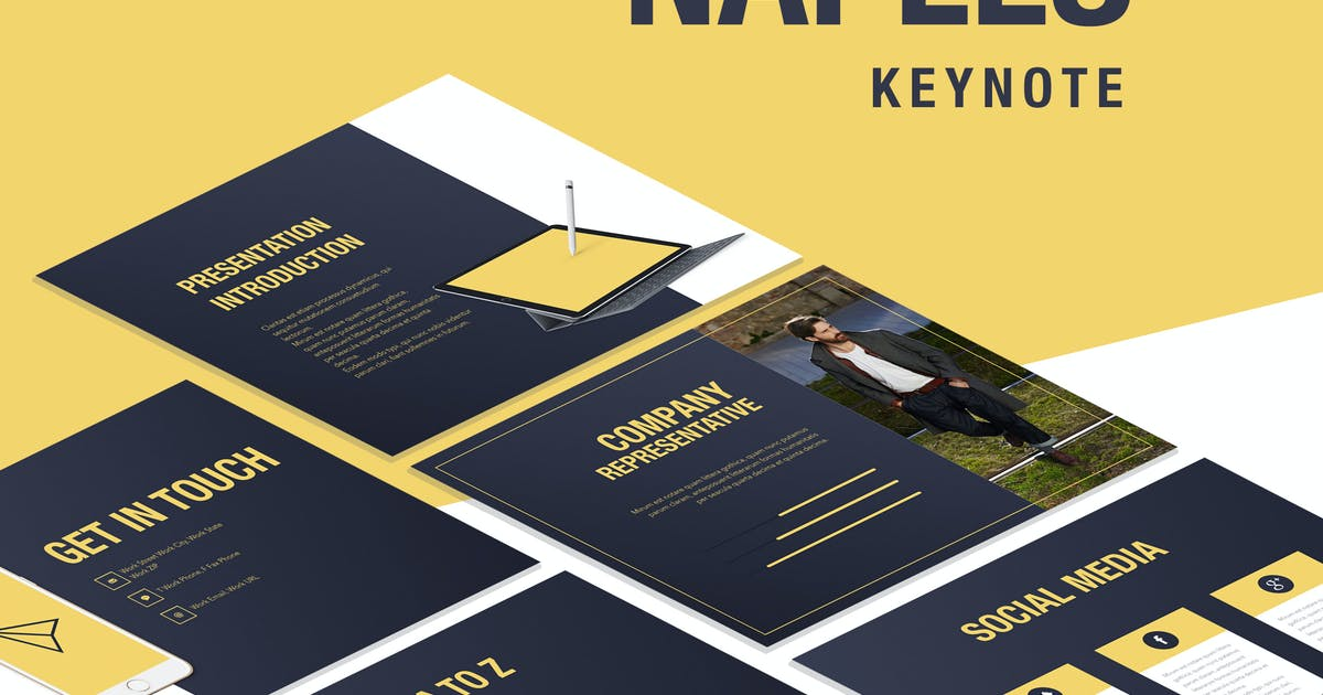 Naples Keynote Template by Unknow
