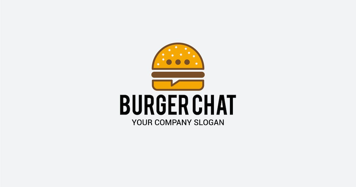 Download burger chat by shazidesigns