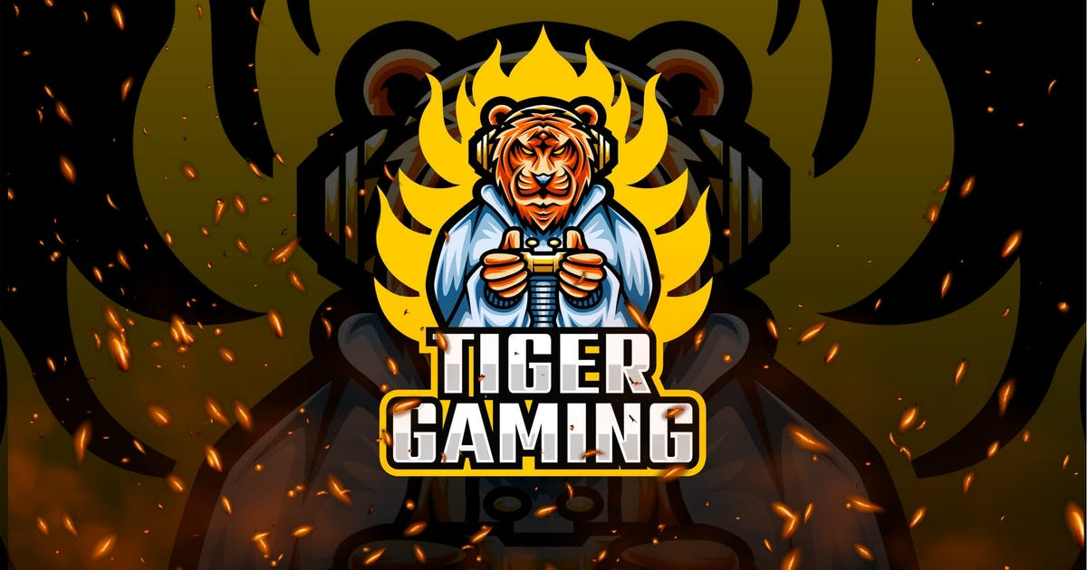 Download Tiger E-Sport and Sport Logo Template by shanafart