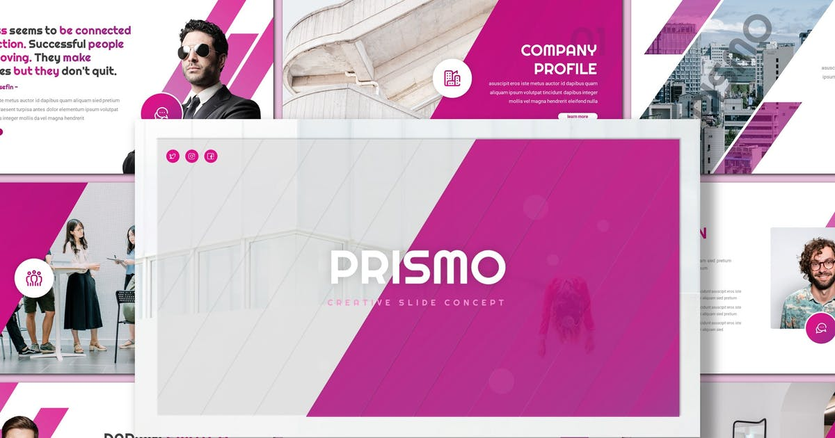 Download Prismo - Creative Keynote Template by inspirasign