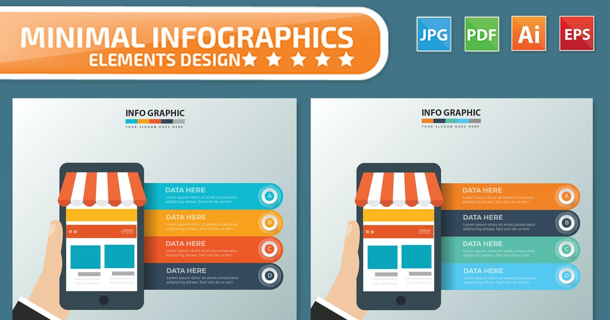 Download Mobile Shopping Infographics by mamanamsai