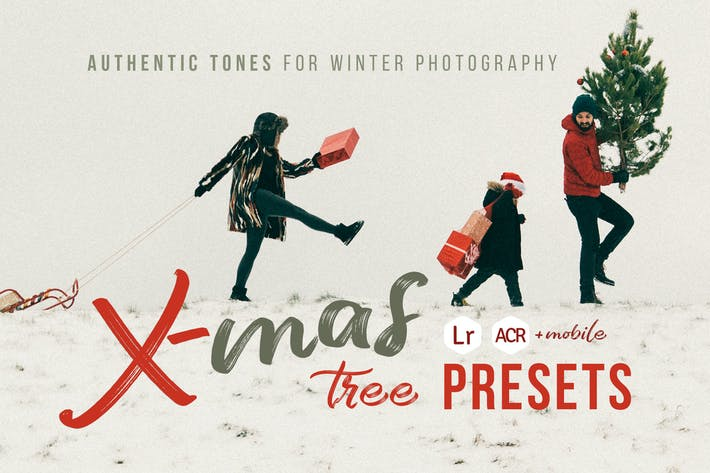 Thumbnail for Xmas Tree - Winter Photography Presets