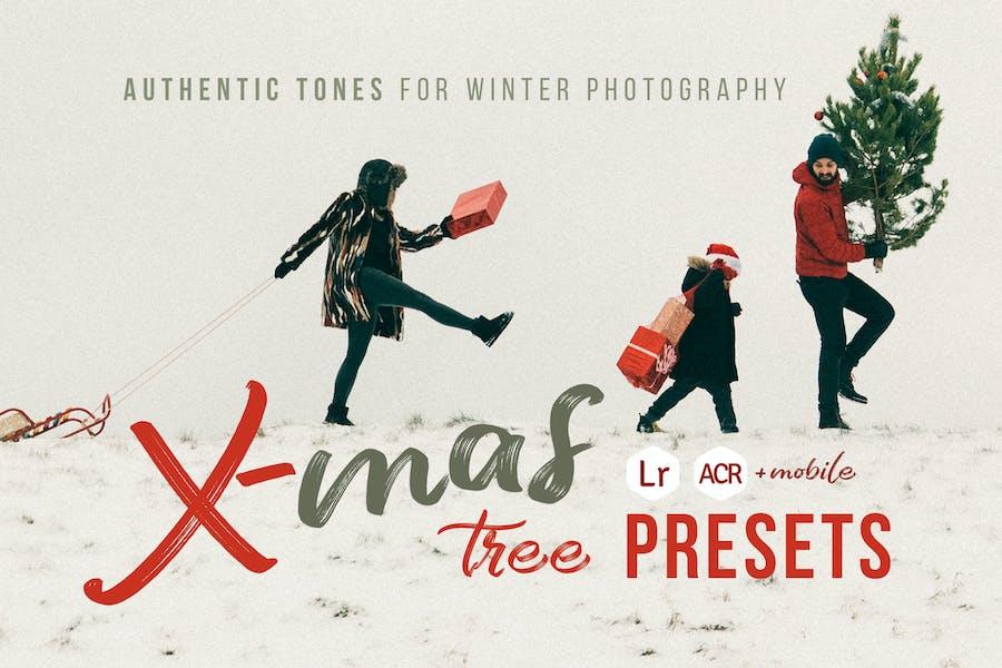 Xmas Tree - Winter Photography Presets
