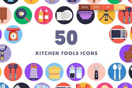 50 Kitchen Tools Icons
