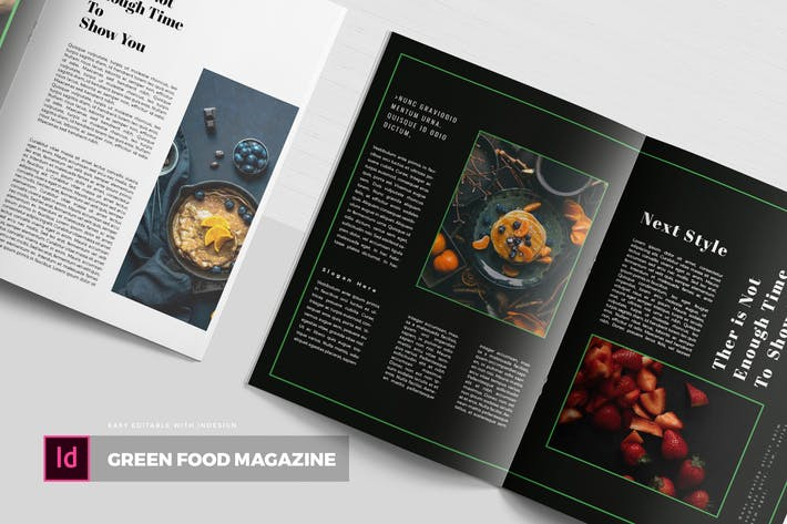 Thumbnail for Green Food | Magazine