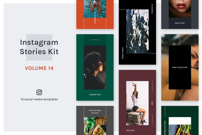 Thumbnail for Instagram Stories Kit (Vol.14)