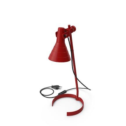 Schreibtischlampe rot