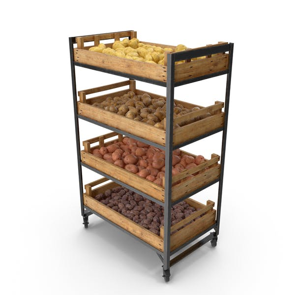 Thumbnail for Shelf With Potatoes