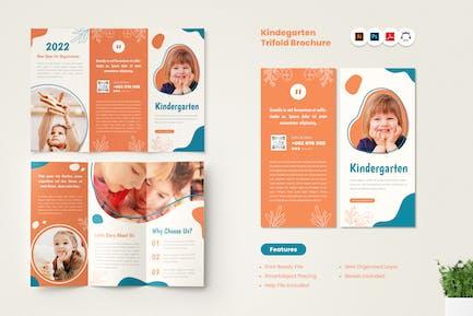 Kindegarten Trifold Brochure