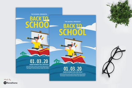 Back to School - Creative Flyer GR