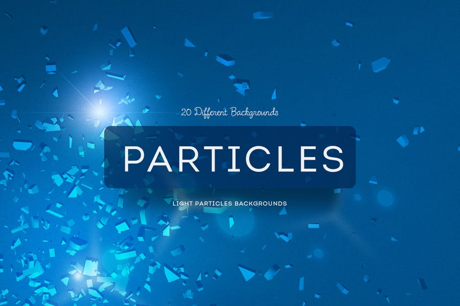 Light Particles Backgrounds