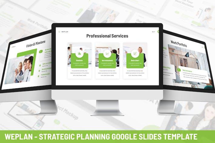 Thumbnail for Weplan - Strategic Planning Google Slides Template
