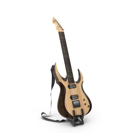 Electric Guitar on Stand