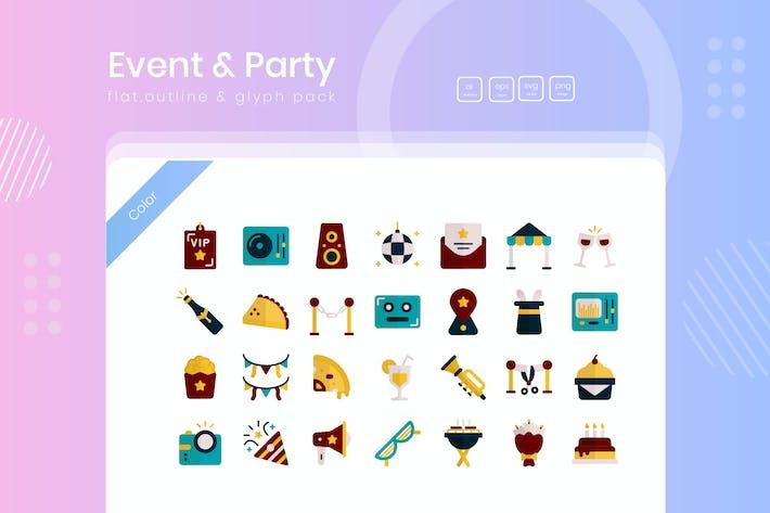 Event & Party Icon-Paket