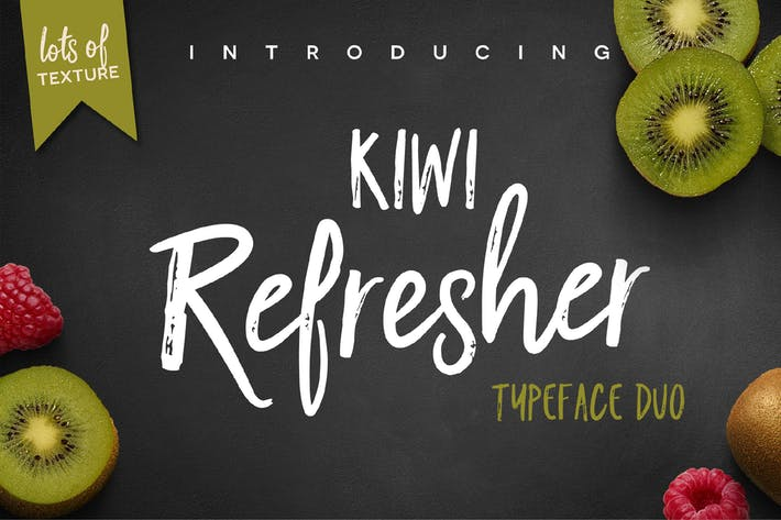 Thumbnail for Kiwi Refresher Font Duo