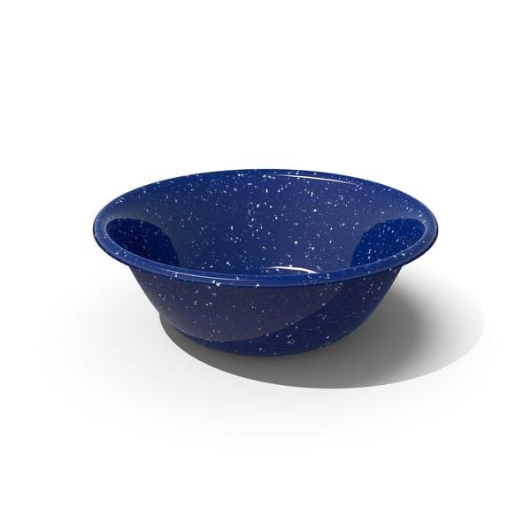 Thumbnail for Blue Enamel Bowl
