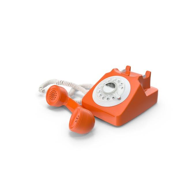 Fashioned Rotary Dial Teléfono