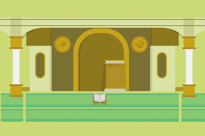 Thumbnail for Mosque - Illustration Background