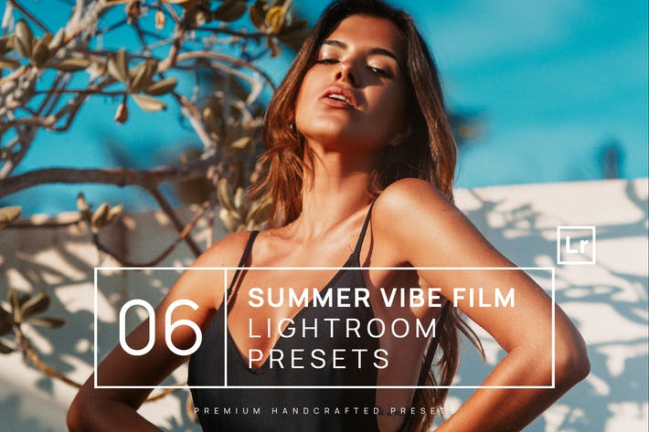 Thumbnail for 6 Summer Vibe Film Lightroom Presets + Mobile