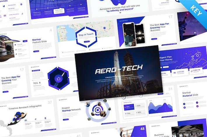 Thumbnail for Aero-Tech Technology Keynote Template