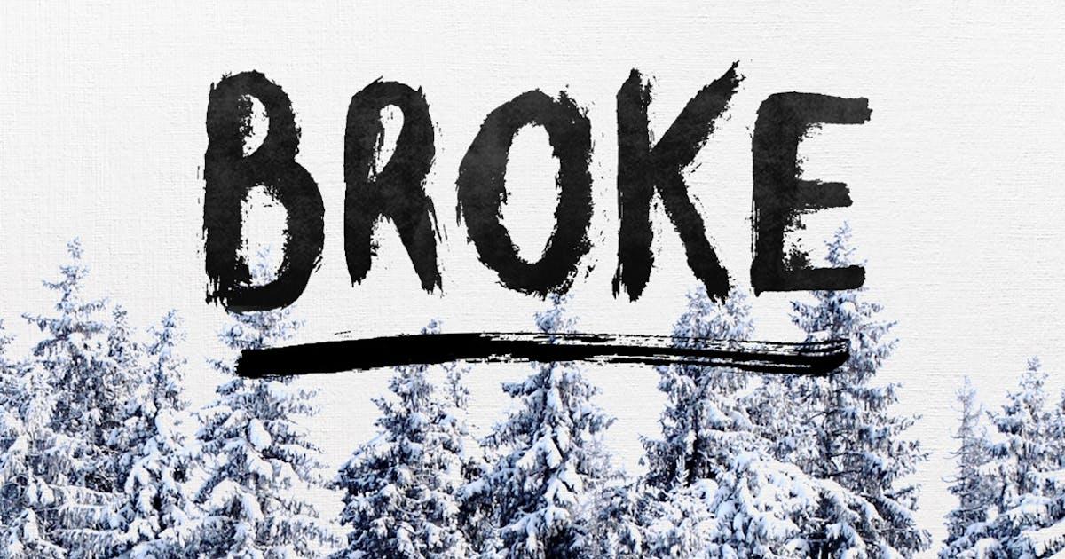 Download Broke Typeface by maulanacreative