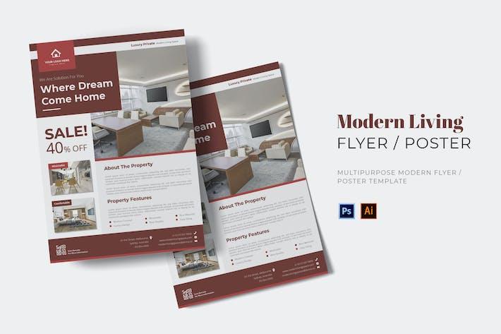 Thumbnail for Modern Living Flyer