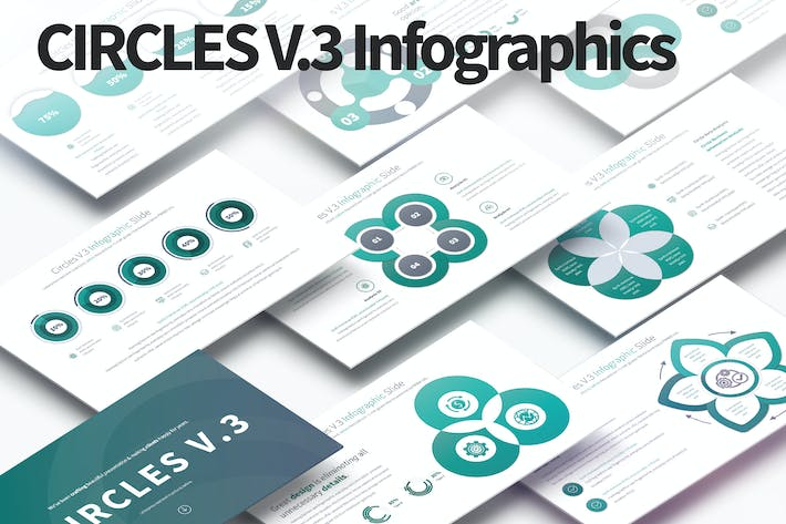 Thumbnail for CIRCLES V.3 - PowerPoint Infographics Slides