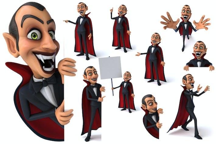 10 lustige Vampire!