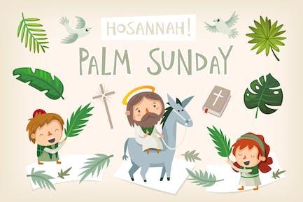 Palm Sunday elements