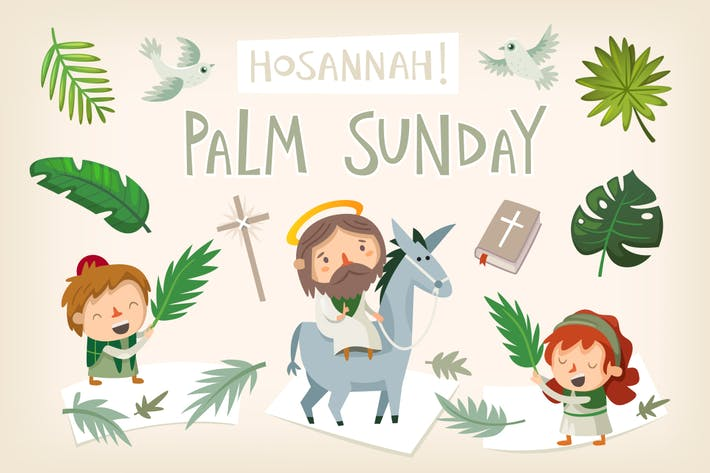 Thumbnail for Palm Sunday elements