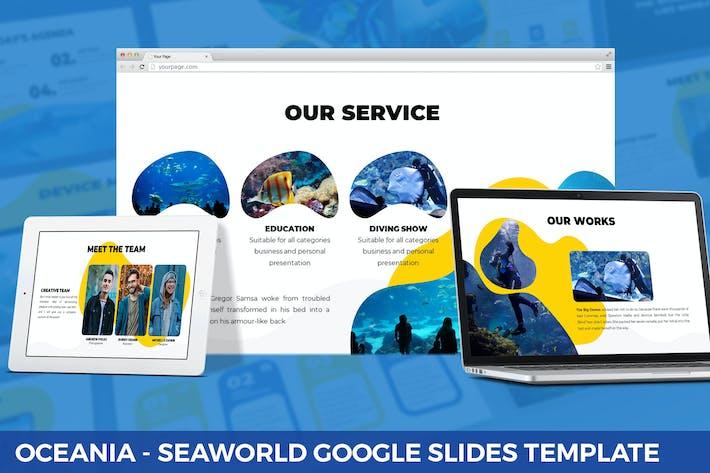 Thumbnail for Oceania - Seaworld Google Slides Template