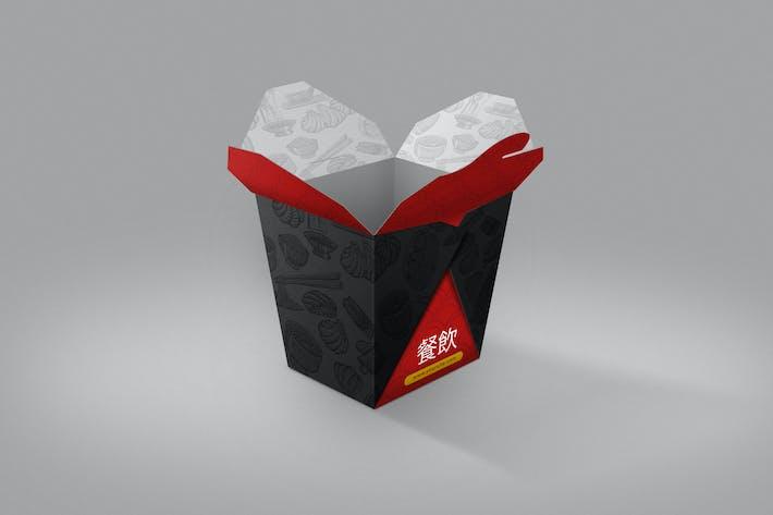 Thumbnail for Asian Food Box Mockup