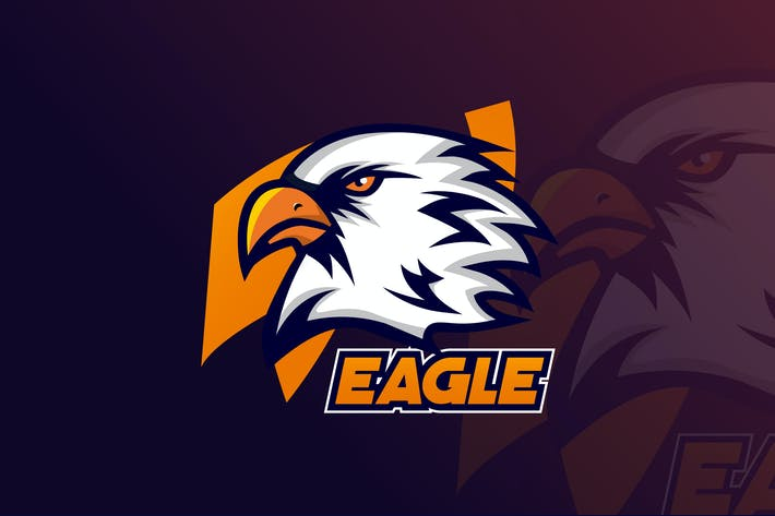 Thumbnail for Eagle Team  Gaming  Mascot & eSports Logo