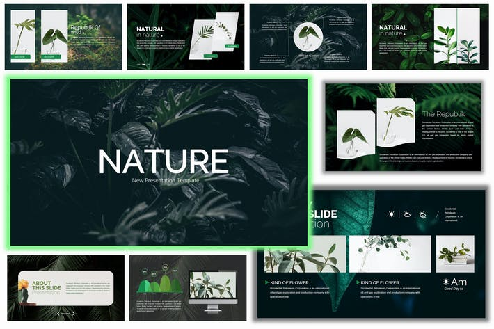 Thumbnail for Nature - Powerpoint