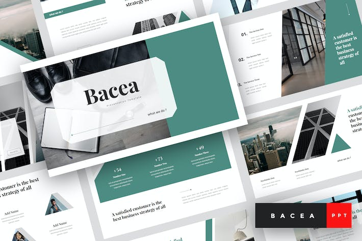 Thumbnail for Bacea - Business PowerPoint Template