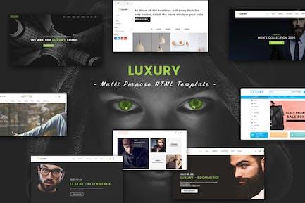 Luxury - Multi Purpose HTML Template